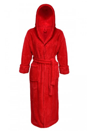 Dressing-gown Diana Long Red 1