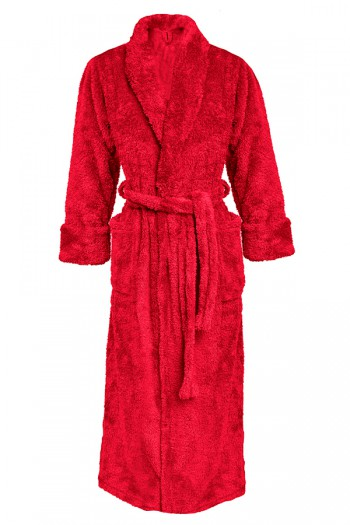 Dressing-gown Eliza Long Red 1
