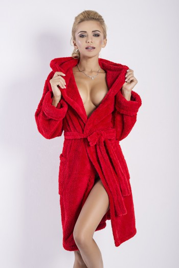 Dressing-gown Diana Red 2