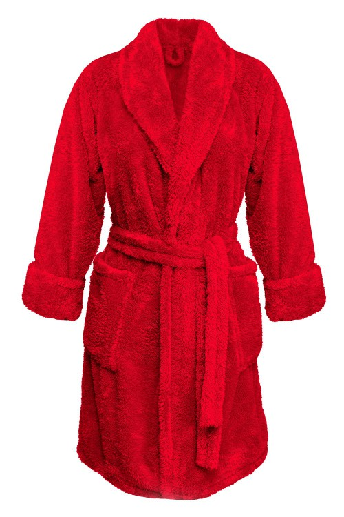Shop, Dressing-gown Eliza Red Plus Size