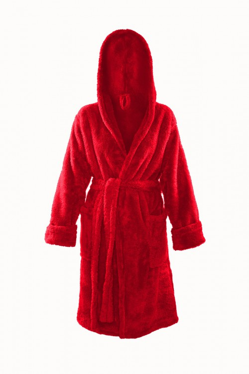 Shop, Dressing-gown Diana Red Plus Size
