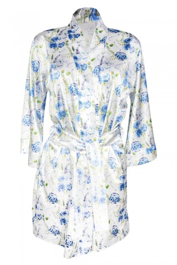 Dressing-gown Flowers DK - P 31