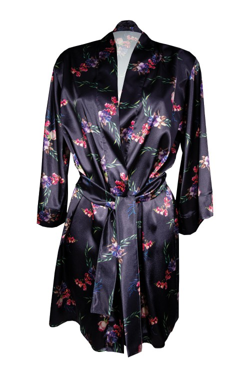 Dressing-gown, Dressing-gown Flowers DK - P