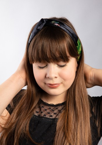 Satin hair band 6