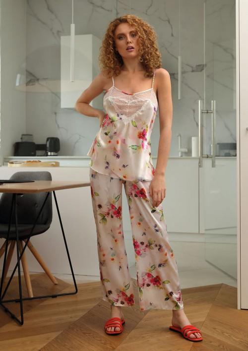 Komplety bielizny damskiej, KOMPLET Flowers DK - KC