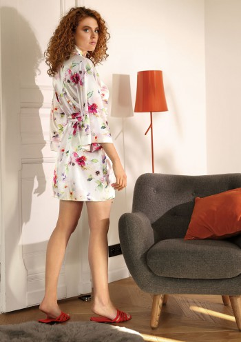 Dressing-gown Flowers DK - P 6