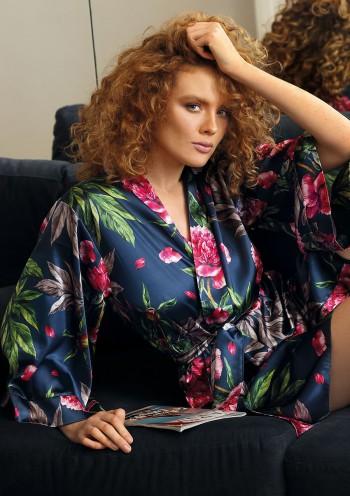 Dressing-gown Flowers DK - P 13
