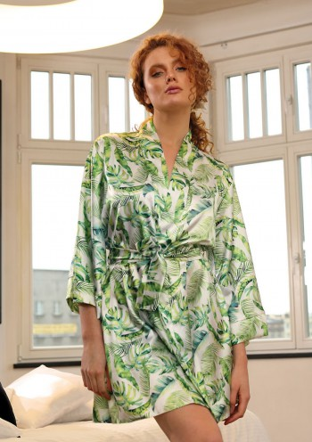 Dressing-gown Flowers DK - P 16