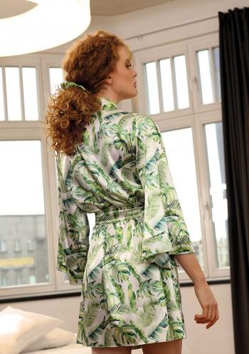 Dressing-gown Flowers DK - P 17