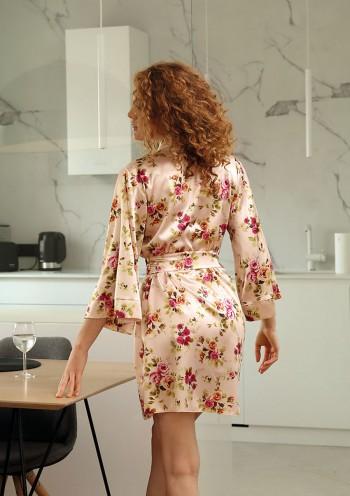 Dressing-gown Flowers DK - P 22