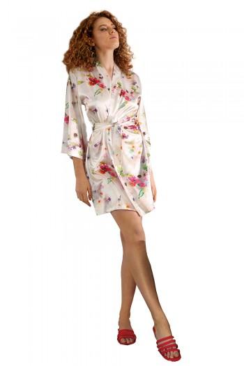 Dressing-gown Flowers DK - P 46