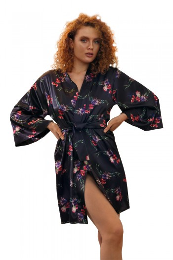 Dressing-gown Flowers DK - P 48